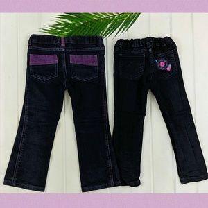 Girls Wrangler Black Jeans Bundle skinny/straight